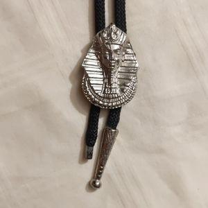 Vintage Pharaoh Bolo Tie